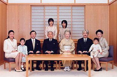 ราชวงศ์ญี่ปุ่นในปัจจุบัน