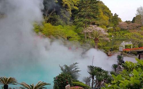 บ่อน้ำร้อนญี่ปุ่น Beppu Onsen