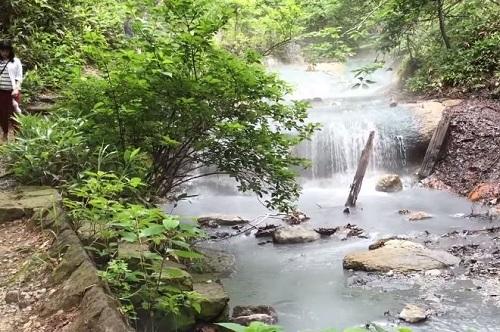 บ่อน้ำร้อน Noboribetsu Onsen, Hokkaido
