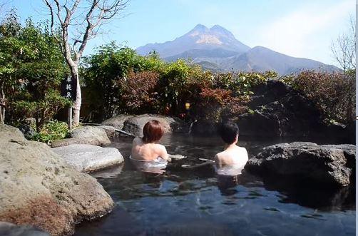 บ่อน้ำพุร้อน Yufuin Onsen